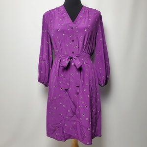 Tucker Women's Purple Dress Size Large